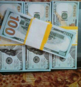 Банкноты 100 Долларов Нового образца Билеты банка