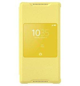 Оригинал Чехол для Sony Xperia Z5 compact (Жёлтый)