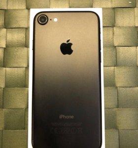 iPhone 7 32Gb, чёрный матовый