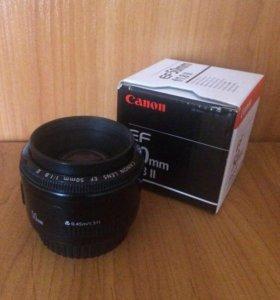 Объектив Canon AF 50mm 1.8 🔥 срочно