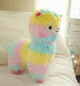 Красочная альпака