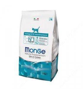 Monge (Монж) Kitten корм для котят, 400гр