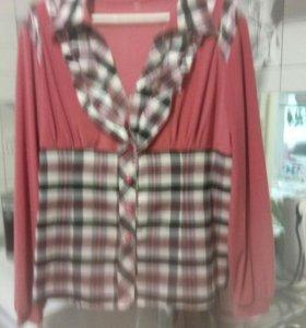 Блузка новая  48-50