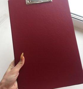 папка планшет подставка под бумагу холдер