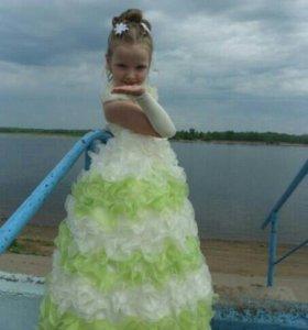 Платье бальное.