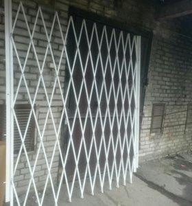 Решётки раздвижные двери,окна