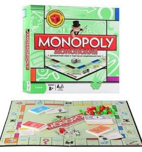 8+ Настольная игра Монополия (новая)