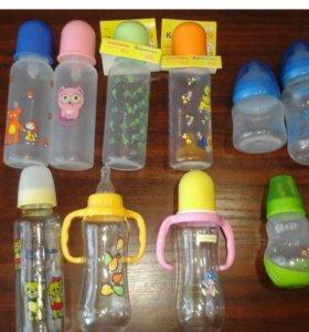 Фирменные новые бутылочки и пустышки,термос