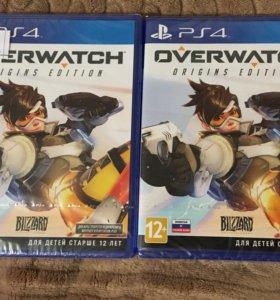Overwatch ps4, новый, запечатанный