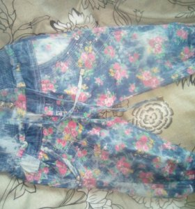 Детские легкие штанишки доя девочки