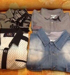 Рубашки 4 шт 48 размер