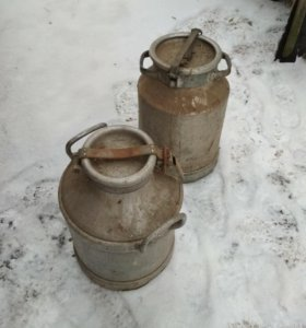Алюминиевый бидон 40 литров