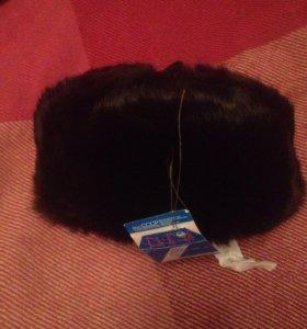 Продаю шапку зимнюю из кролика 56 размер