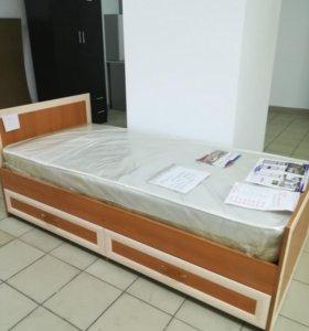 Кровать с матрасом 90 от производителя