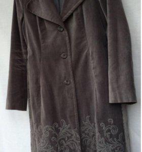 пальто love republic с вышивкой