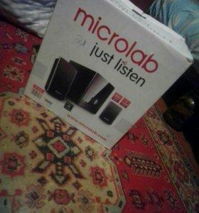 Продам музыкальный центр-microlad iust listen
