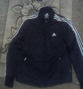 Куртки демисезон adidas с капюшоном и fox racing