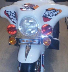 Аккумуляторный мотоцикл детский