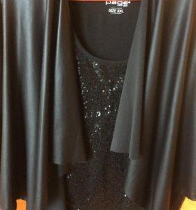 Пиджак и блузка 50-54