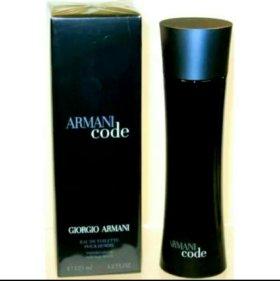 Armani Code 125 ml. Новый