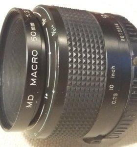 Макро-объектив MINOLTA MD 50/3,5 JAPAN