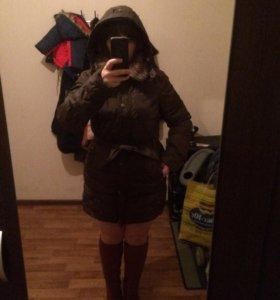 Куртка Zara (пуховик)