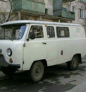 УАЗ 2206 (таблетка) по запчастям