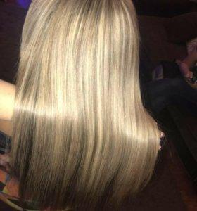 Ботокс волос. Наращивание волос