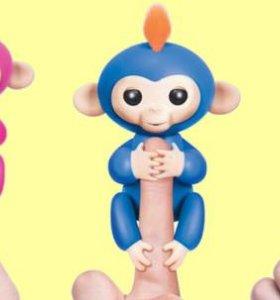 Игрушка-мартышка покорившая полмиpa Finger lings