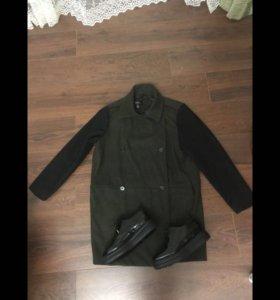 Стильное пальто Mango 46-48