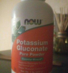 Глюконат калия NOW FOODS