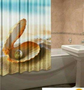 Новая штора для ванной