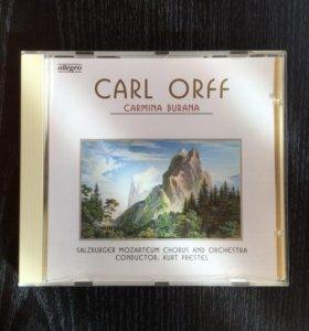 Аудио CD Классика: Карл Орф (фирменный)