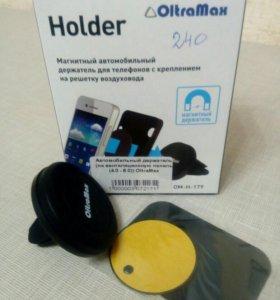 Магнитный держатель для телефона на дифлектор