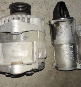 Chevrolet Aveo T300 генератор стартер