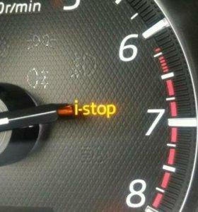 Отключение i-stop Mazda