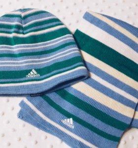 Шапка и шарф Adidas