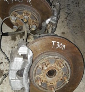 Chevrolet Aveo T300 кулак поворотный