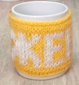 Кружки в именных свитерочках