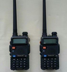 Продаю комплект из 2-х раций Retevis RT-5R