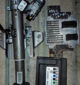 шевролет авео т300 ЭБУ комплект 1.6л мт