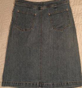 Юбка джинсовая фирменная. Классика