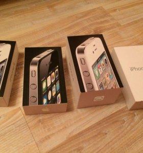 Коробки от 4 айфона