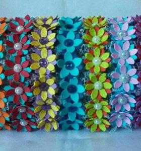Ободочки. Сделаны из фоамирана.
