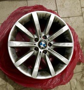 Литые диски с BMW 5 серии R19