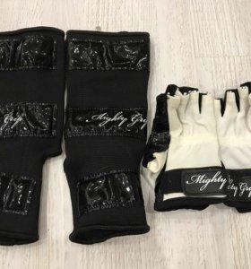 Перчатки и голеностоп на туфли Mighty Grip
