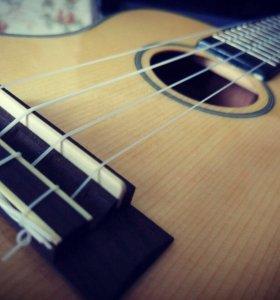 Уроки игры на укулеле и гитаре
