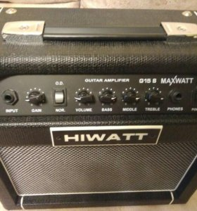 Комбоусилитель hiwatt maxwatt g15 8