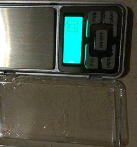 Весы 0.1 до 500 грамм
