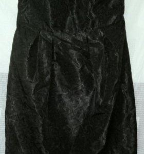 Платье 👗 оджи черное праздничное как новое